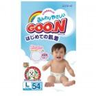 Goon 大王嬰兒紙尿片L碼54片(9-14kg)