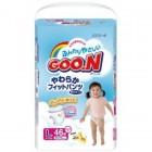 Goon 大王嬰兒紙尿褲L碼44片(女)(9-14kg)