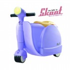 Skoot case 兒童摩托車造型行李箱(紫色)