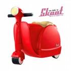 Skoot case 兒童摩托車造型行李箱(紅色)