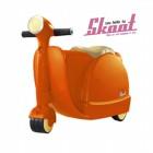 Skoot case 兒童摩托車造型行李箱(橙色)