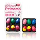 Primomo 無毒可洗可擦幼兒蠟筆(蛋型)