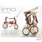 iimo #2 可摺式兒童三輪車(白 紅 啡)